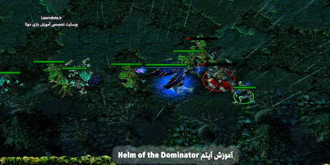 آیتم Helm of The Dominator